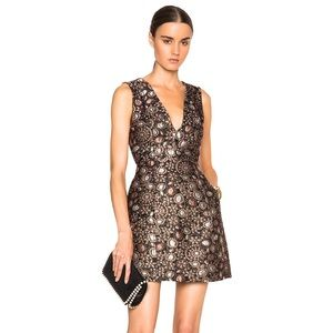 Alice and Olivia Pacey Lantern A-line Dress